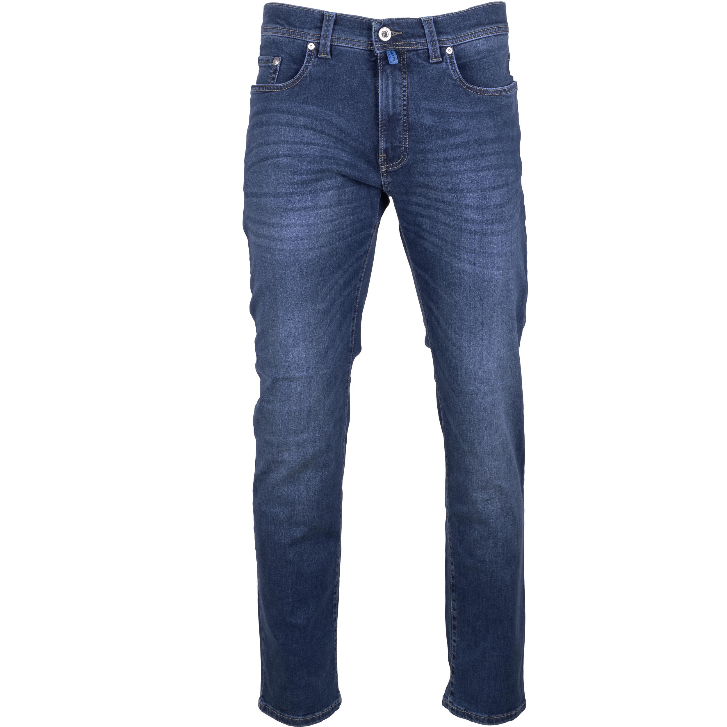 Pierre Cardin Herren Jeans Lyon Futureflex - blau used 40/34