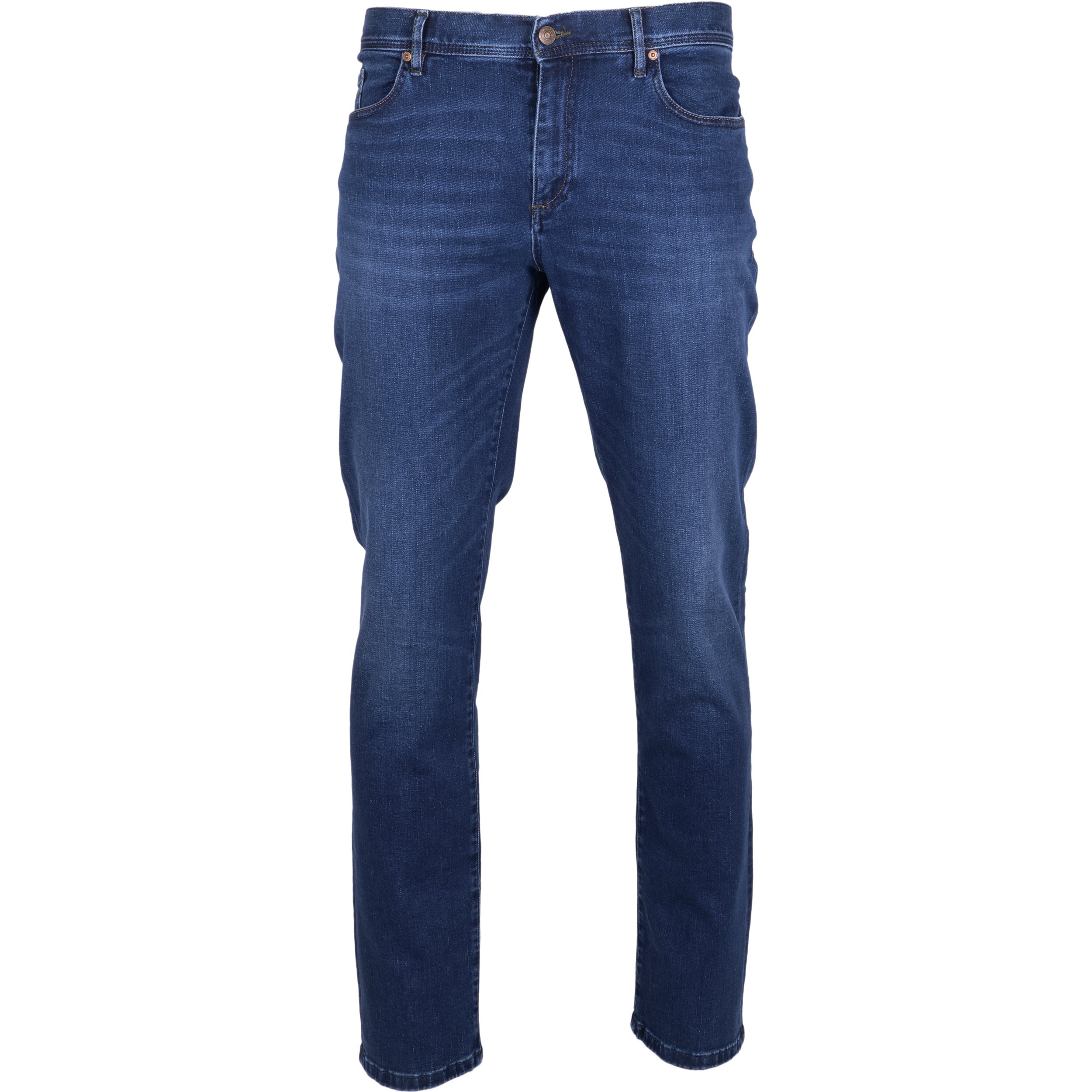 Alberto Herren Jeans Pipe regular fit - dark blue 32/34