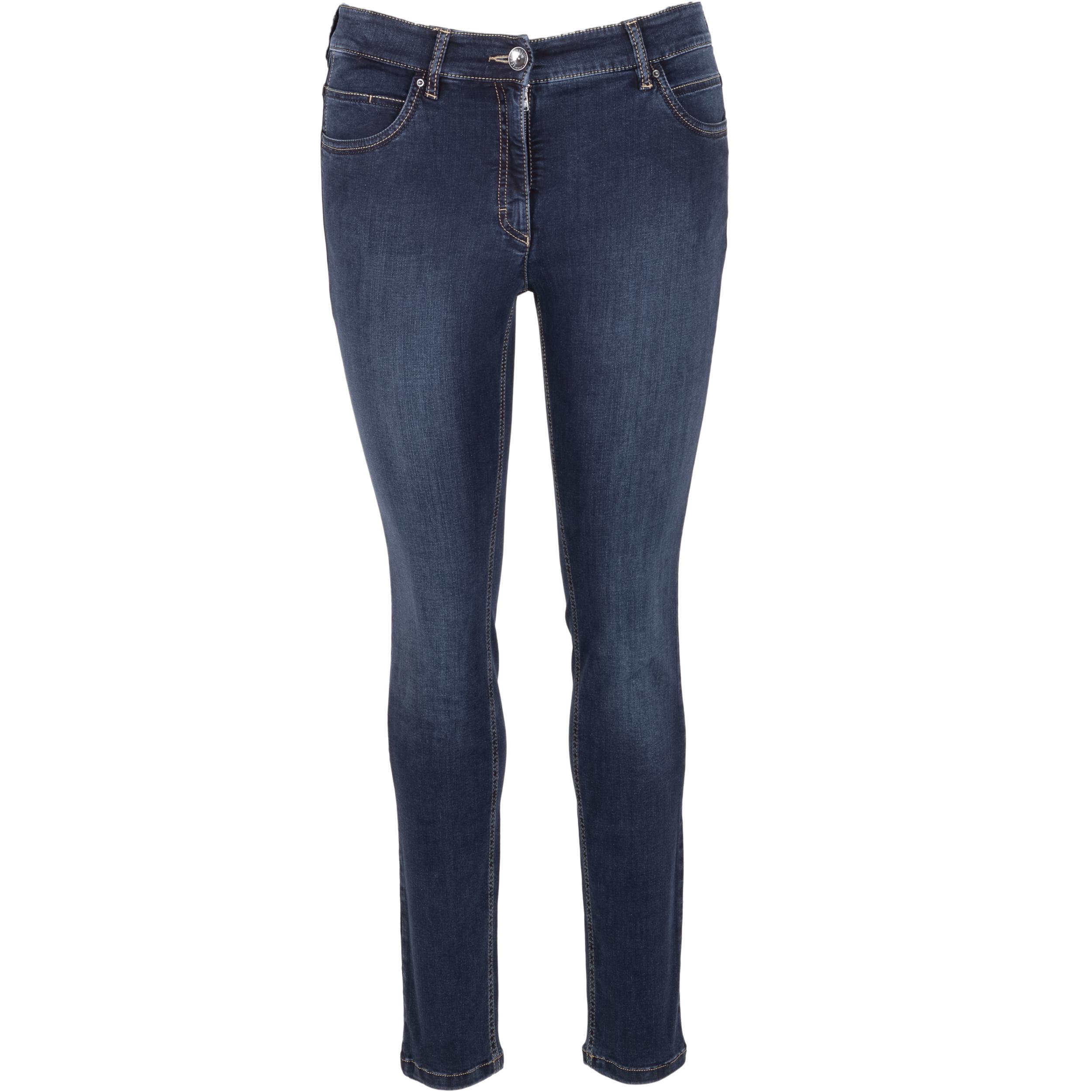 Zerres Damen Jeans Twigy - dunkelblau 40/30