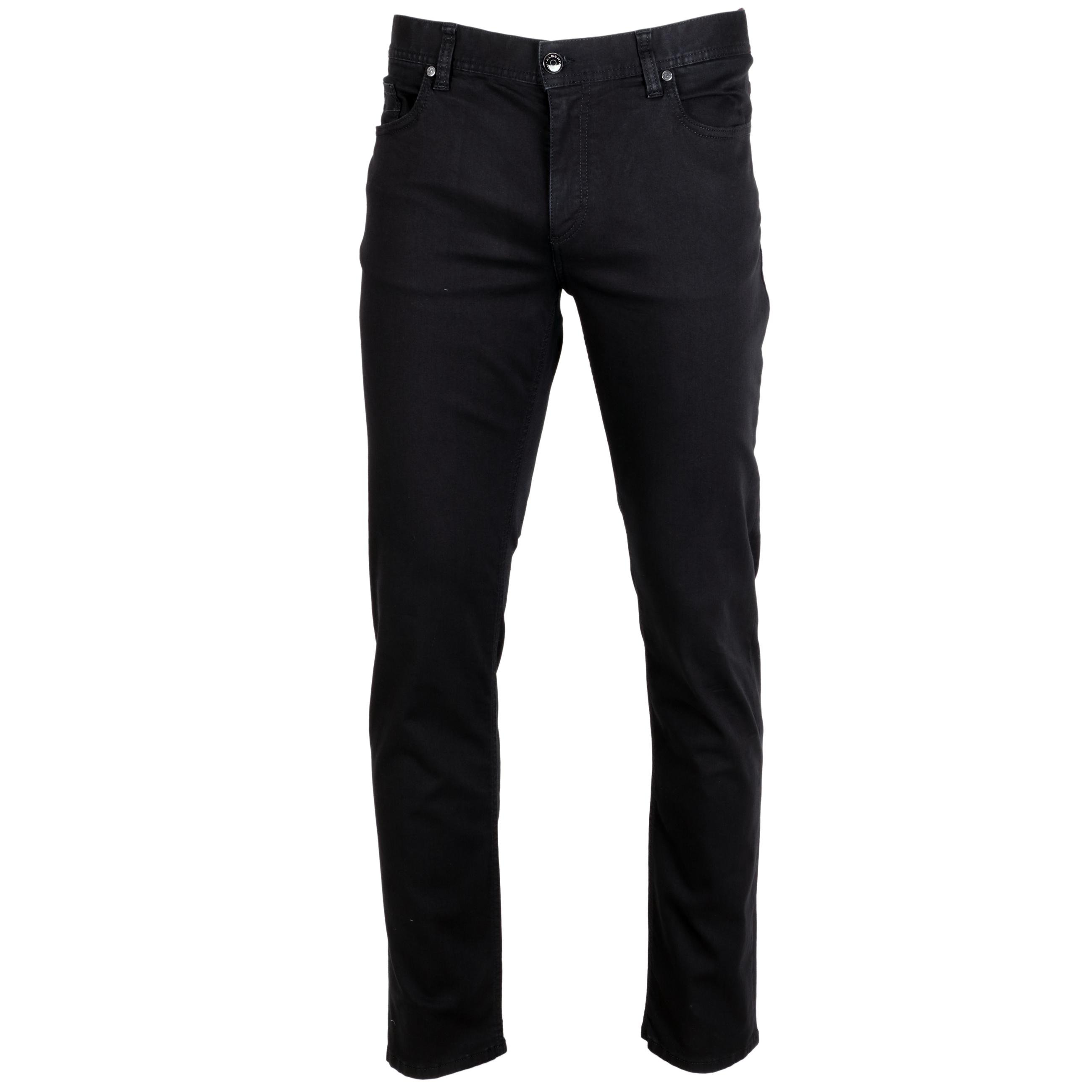 Alberto Jeans Pipe leichte sommerliche Qualität 34/34 schwarz