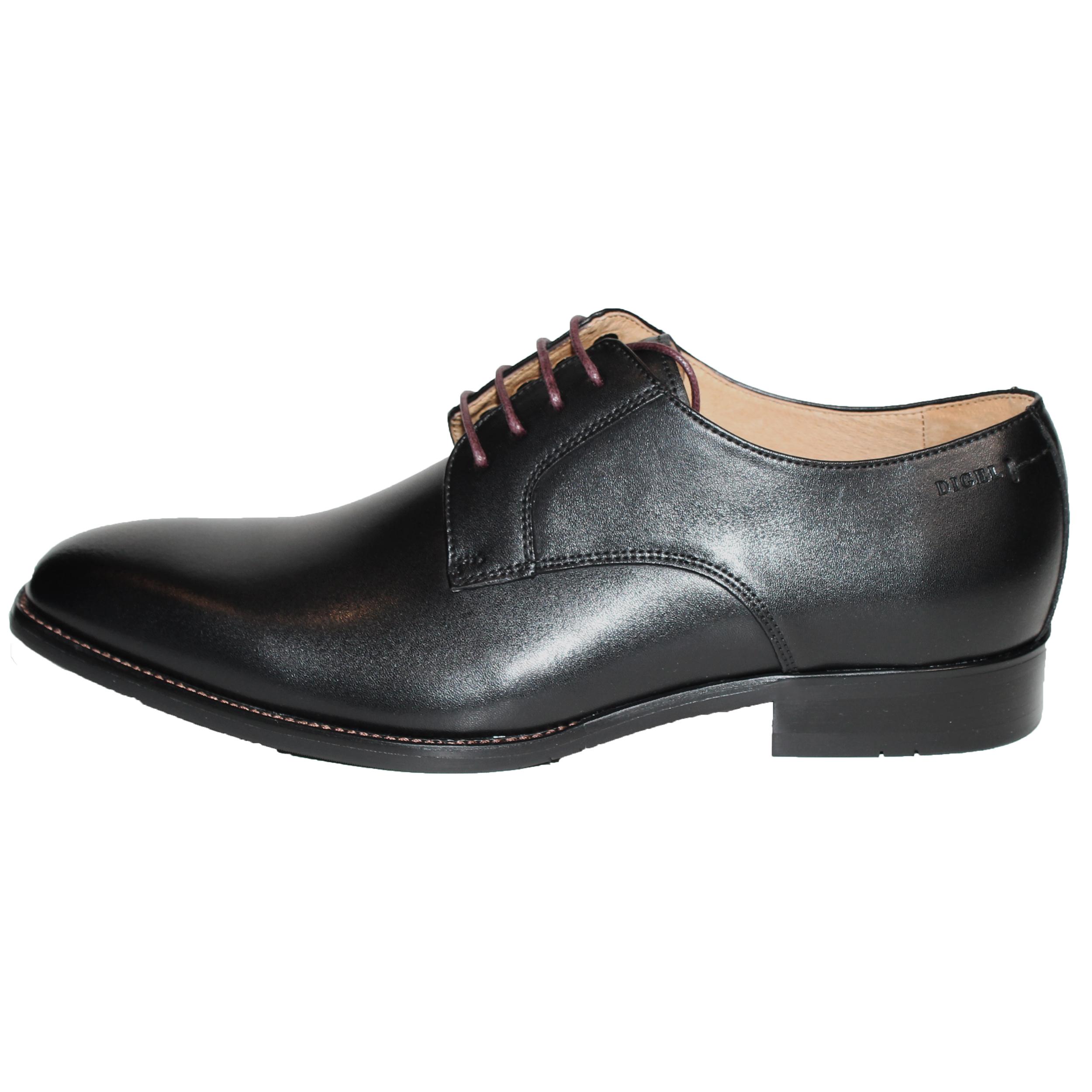 Digel Herren Schuh Simon Derby 43 schwarz