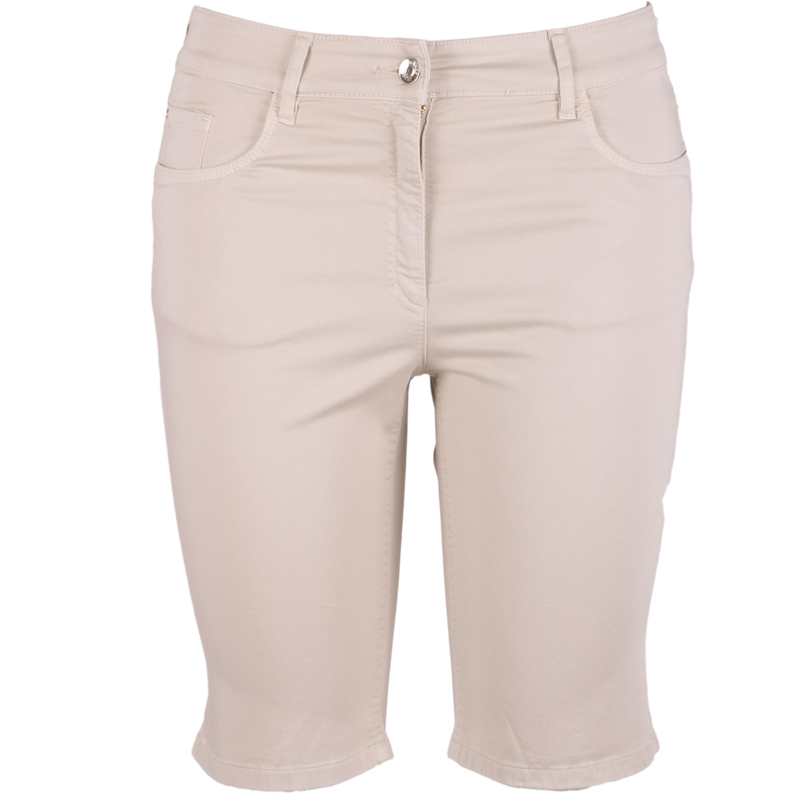 Zerres Damen Bermuda Shorts Sarah 42 beige