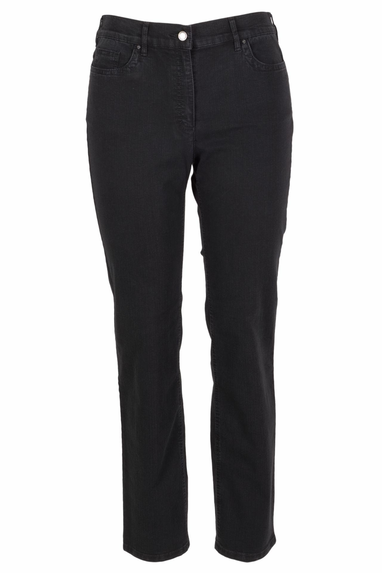 Zerres Damen Jeans Cora comfort S 23 schwarz