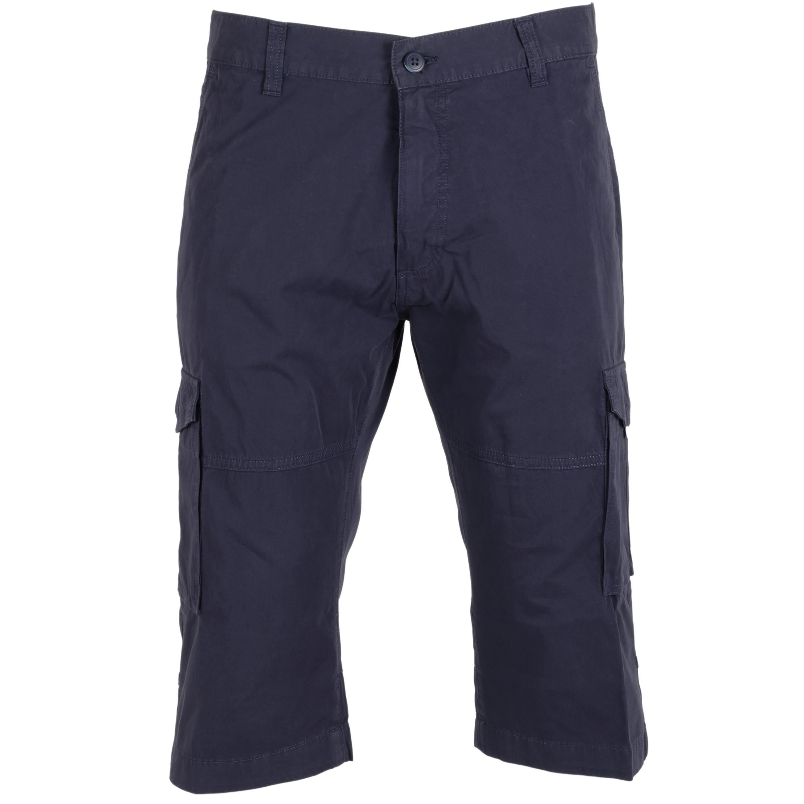 Pioneer Herren Cargo Shorts 3 Quarter 38 dunkelblau