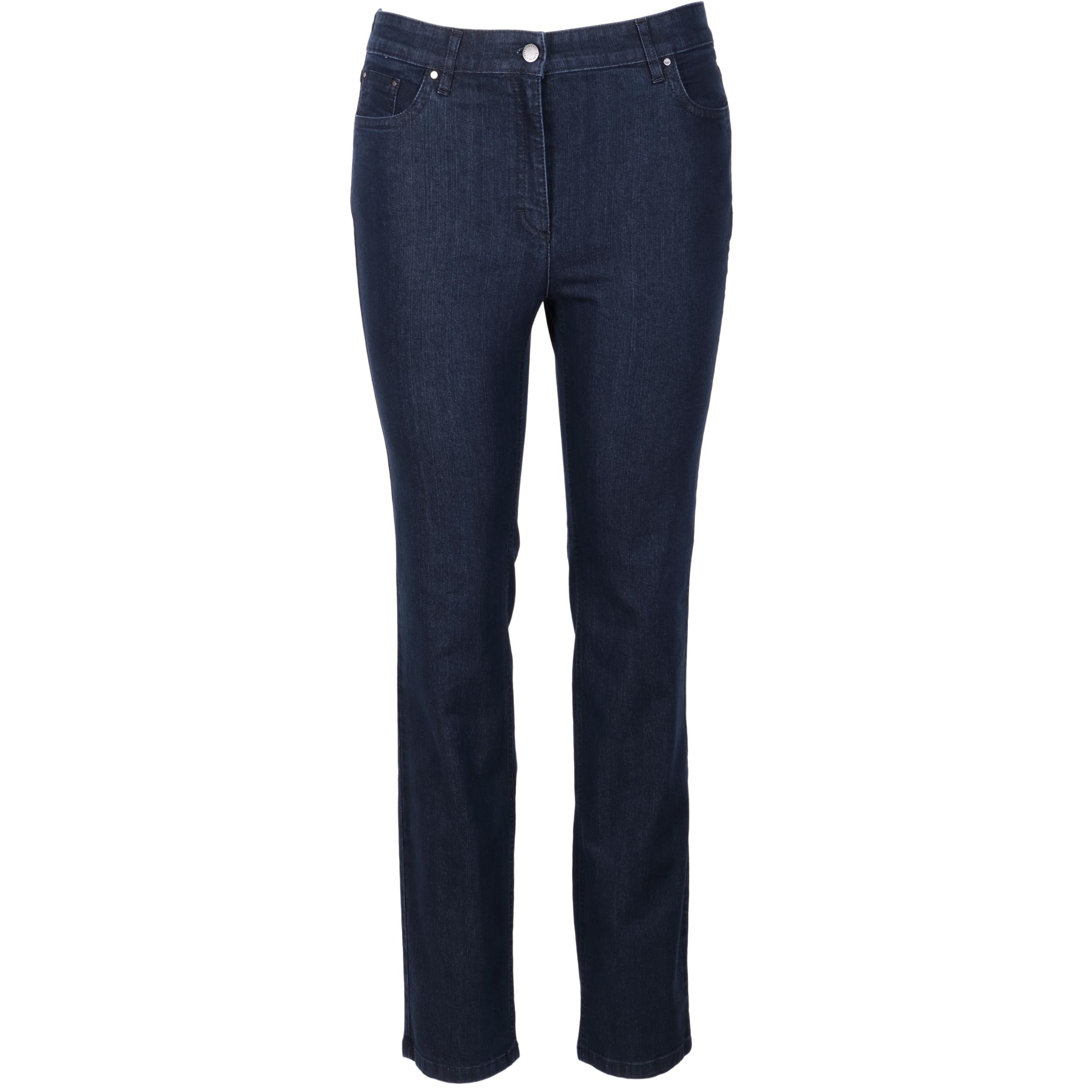 Zerres Damen Jeans Cora comfort S 21 dunkelblau