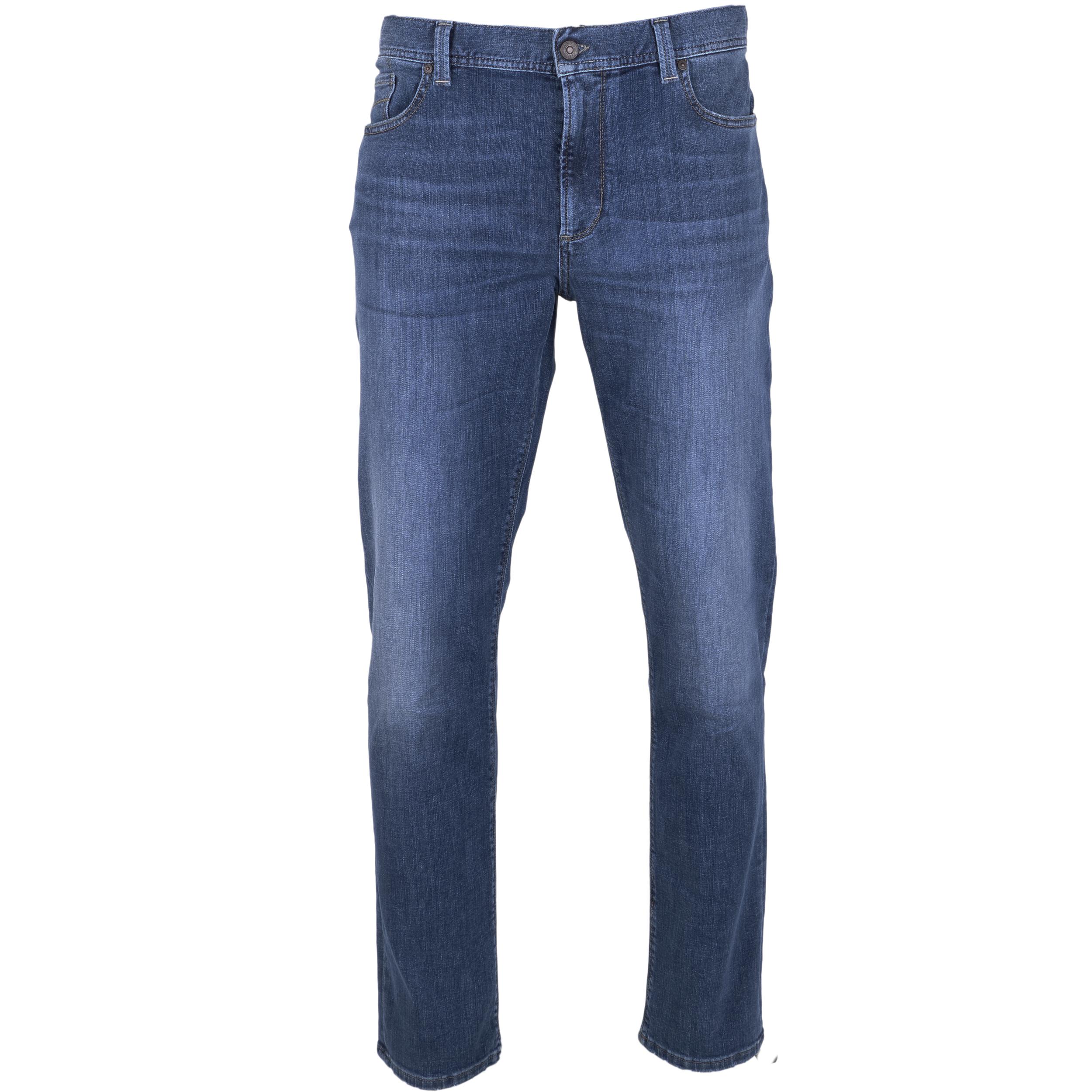 Alberto Herren Jeans Pipe regular fit - blau 35/32
