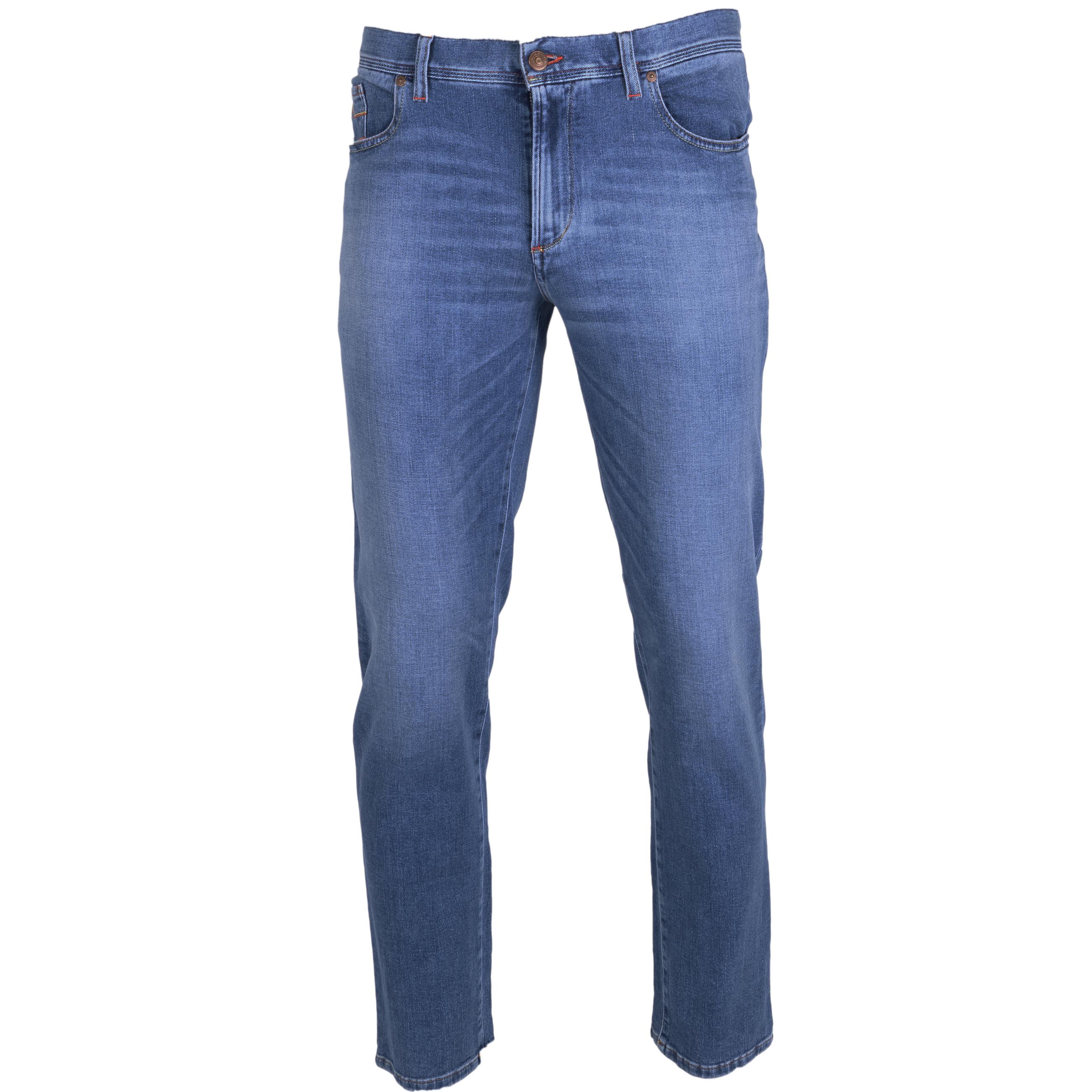 Alberto Jeans Pipe regular fit 32/34 blau