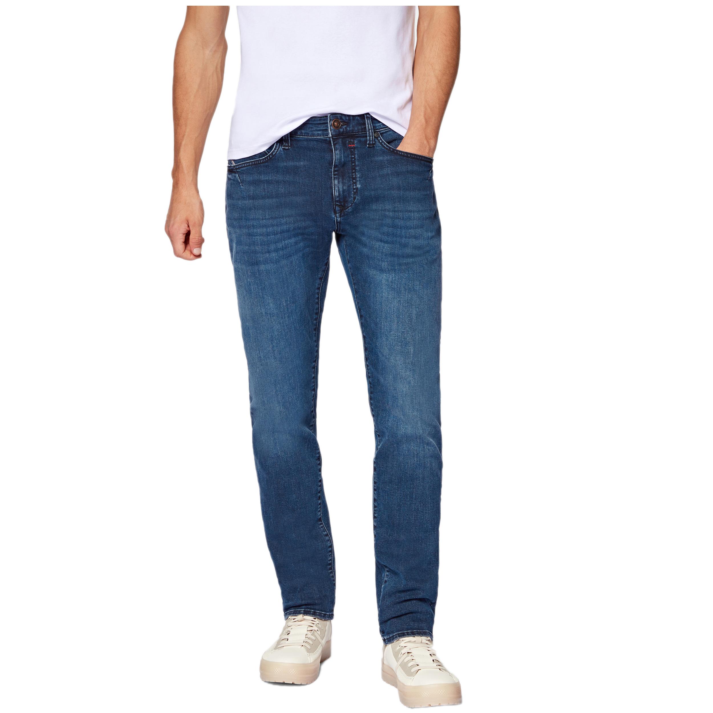 Mavi Herren Jeans Yves ultra move - ink brushed 30/32