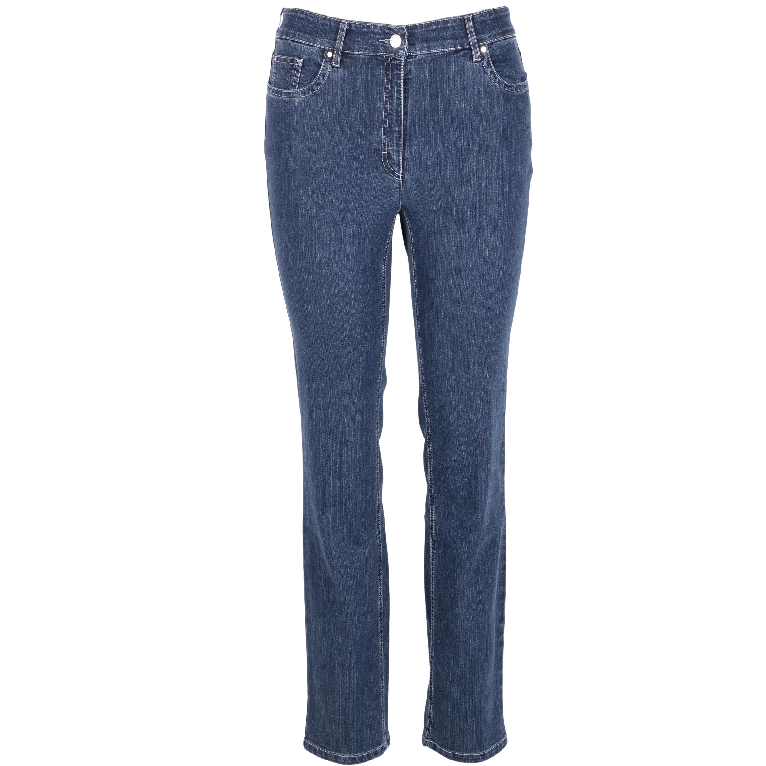 Zerres Damen Jeans Cora comfort S 23 blau