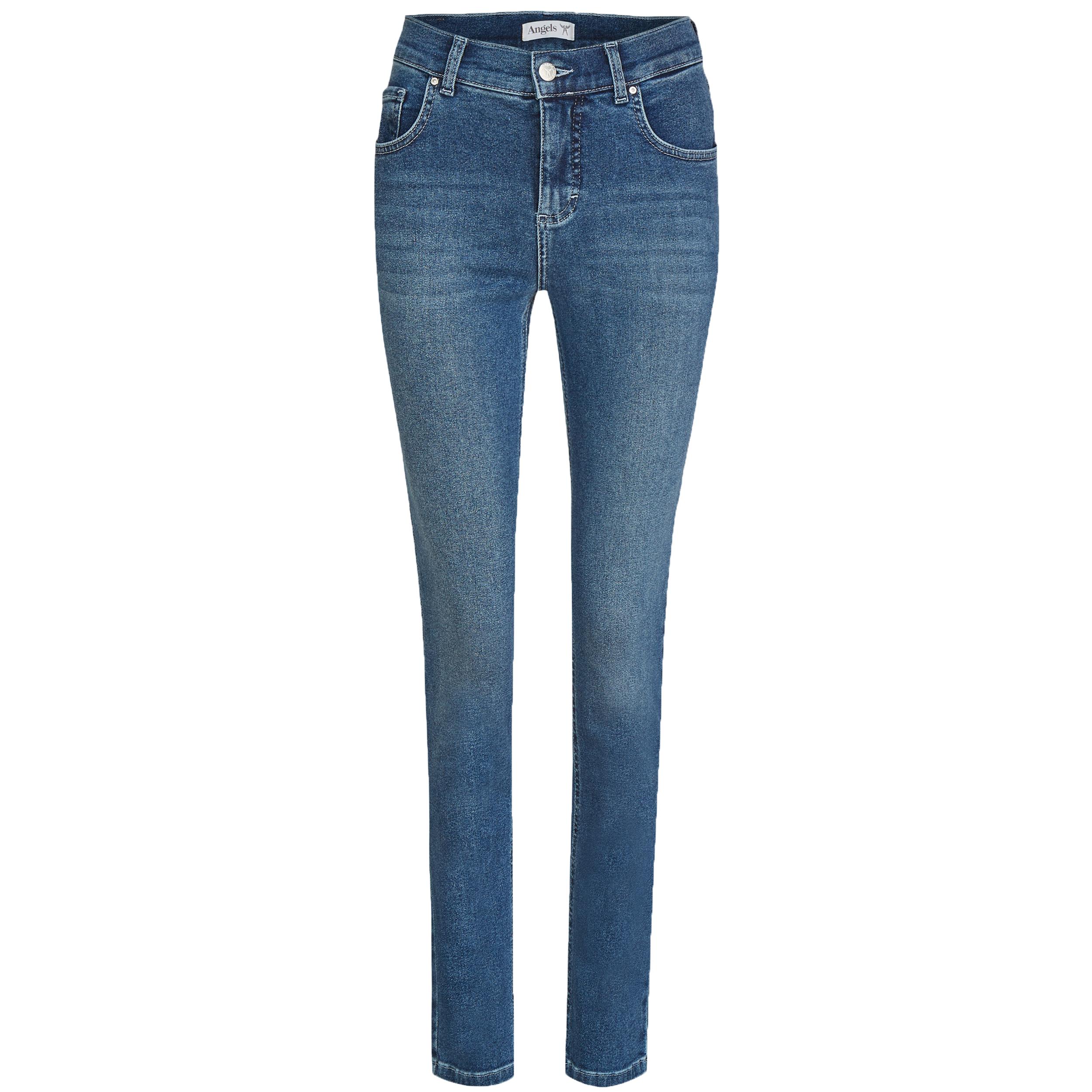 Angels Damen Jeans Skinny - mid blue 38/30